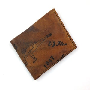 Image of 1940s Trapper Model Baseball Glove Wallet
