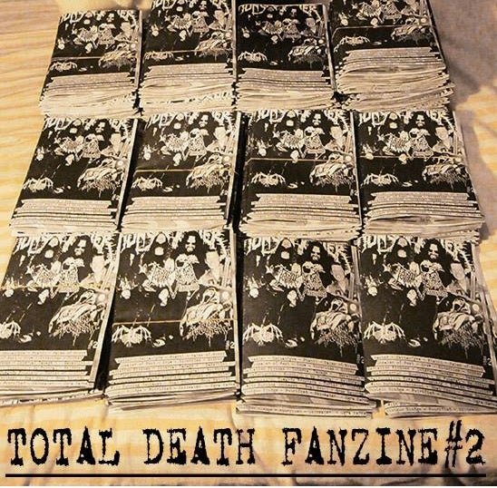 Image of TOTAL DEATH ZINE #2(with free cd)