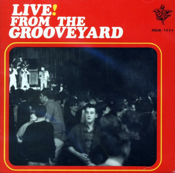 Image of Live! From The Grooveyard – CD