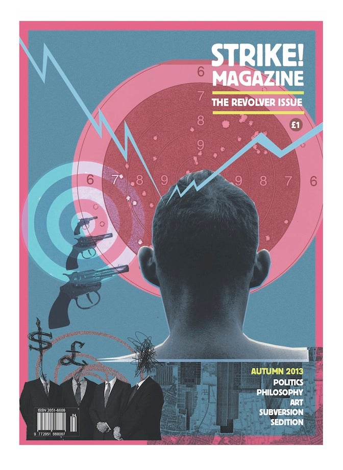 Image of STRIKE! Issue 4 'The Revolver Issue' AUTUMN 2013