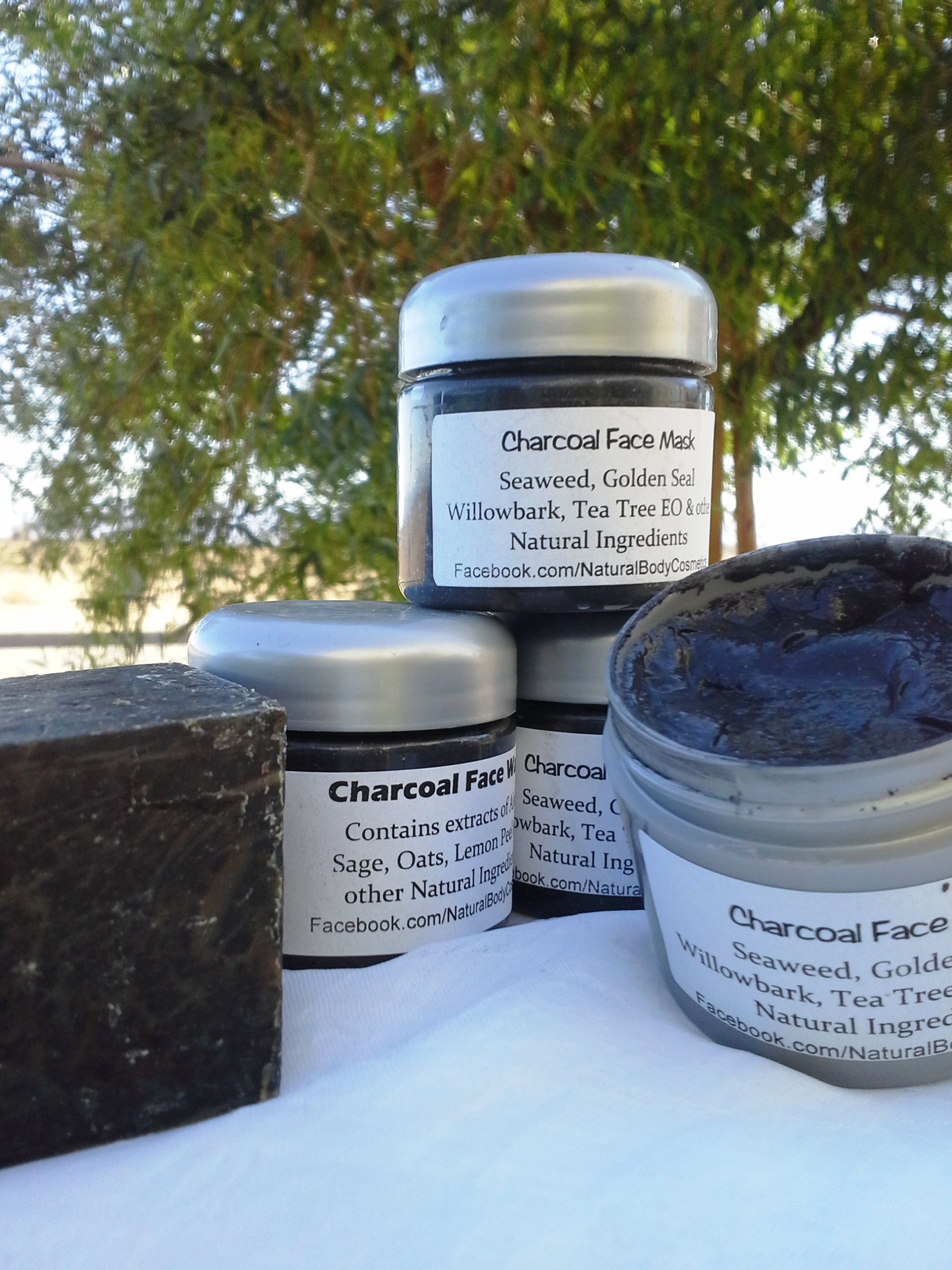 Peace of Mind — Charcoal Face Mask