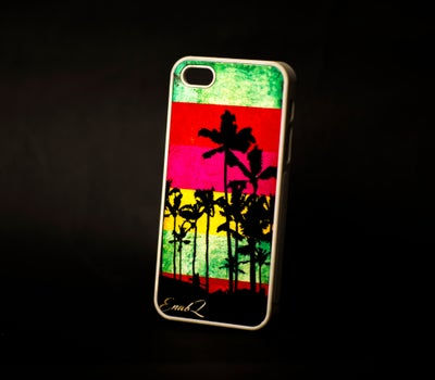 Image of Palm Paradise IPhone Case