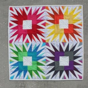 Image of Showstopper Quilt Block - PDF Pattern