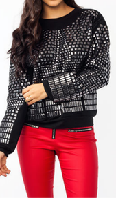 Image of Studded Out Sweatshirt