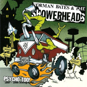 "Image of NORMAN BATES AND THE SHOWERHEADS ""Psycho Too"" CD"