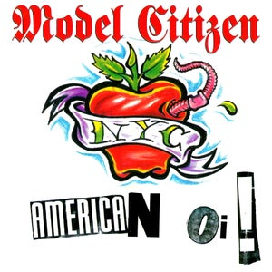 "Image of MODEL CITIZEN ""American Oi"" CD"