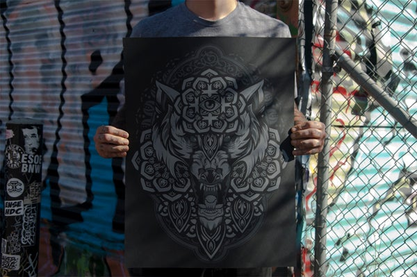 Image of Night Wolf by Hydro74