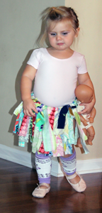 Image of Fabric Scrap Tutu {classic tutu}
