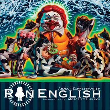 Image of Ron English: Abject Expressionism Book