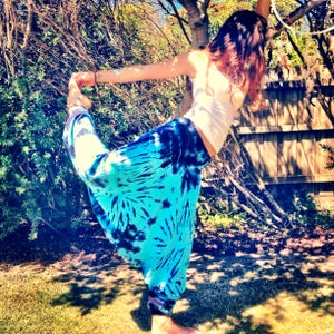 Image of Rancho Relaxo tiedye harem pants  NEW COLOURS