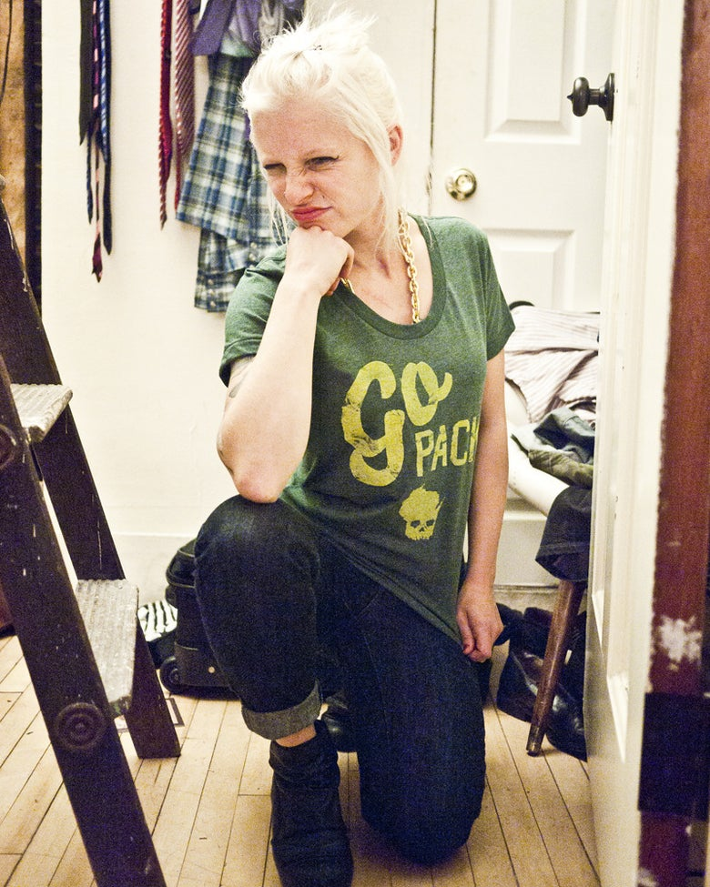 Image of The Lady Go Green and Gold