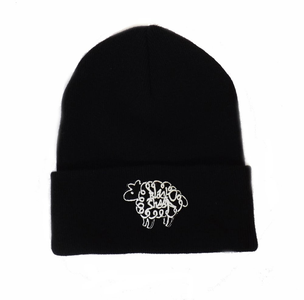 Image of BEANIE HAT (BLACK)
