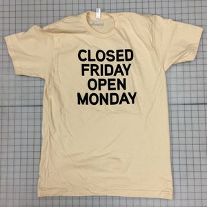 Image of Friday Furlough Tee (Creme)