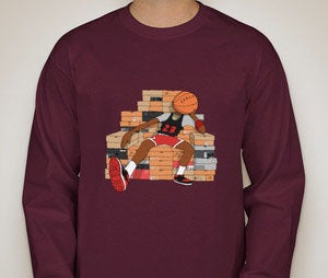 Image of IT'S GOTTA BE THE SHOES long sleeve