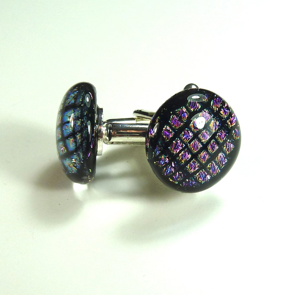 Image of Dichroic Cuff Links