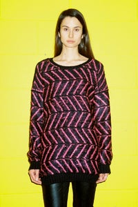 Image of Intarsia Pink Jumper