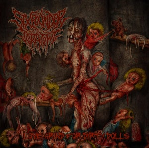Image of SIXPOUNDER TERATOMA - Love Grind for Dirty Dolls CD