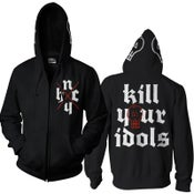 "Image of KILL YOUR IDOLS ""NYHC"" Hooded Zipper Jacket"