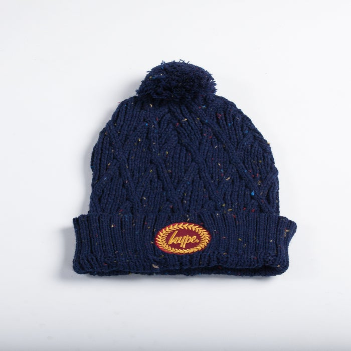 Image of HYPE.CREST BOBBLE NAVY