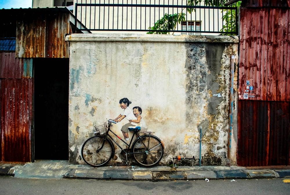 Image of Street Art // Penang, Malaysia