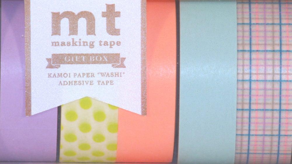 Image of MT Washi Tape - Pastel Gift Box