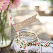 Image of Mint Flowers Fabric Ribbon