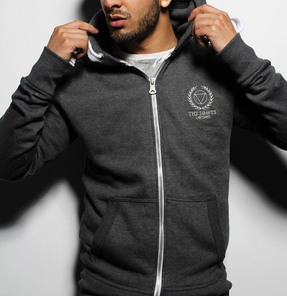 Image of *EXCLUSIVE* Embroidered Zip Hoodie (SuperDry Quality)