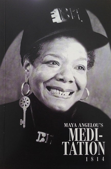 Image of Maya Angelou's Meditation 1814