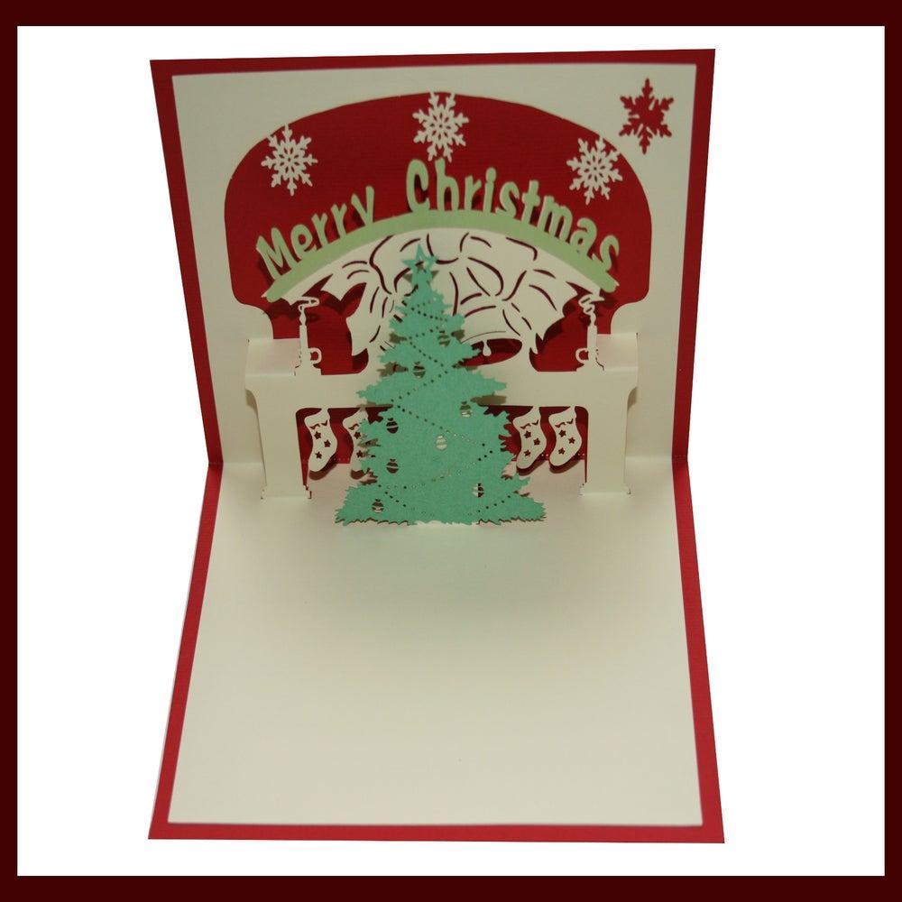 Christmas Card Kirigami Decorating Ideas