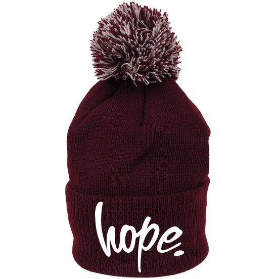Image of Hope Bobble Beanie