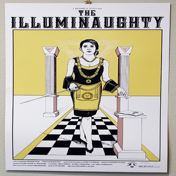 "Image of ""The Illuminaughty"" Fake Film Poster"