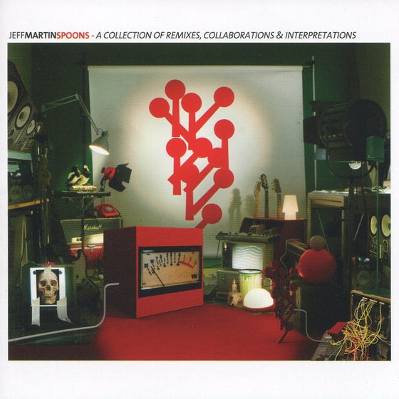 Image of Jeff Martin - Spoons: Remixes Collaborations Interpretations (CD)