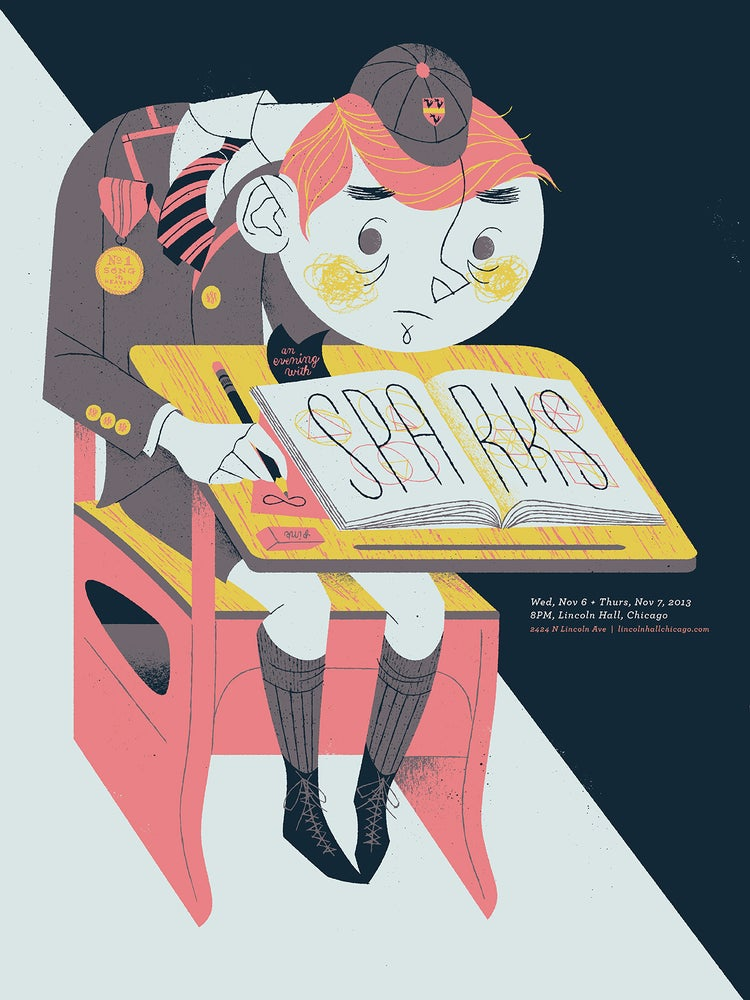 Image of Sparks Gigposter