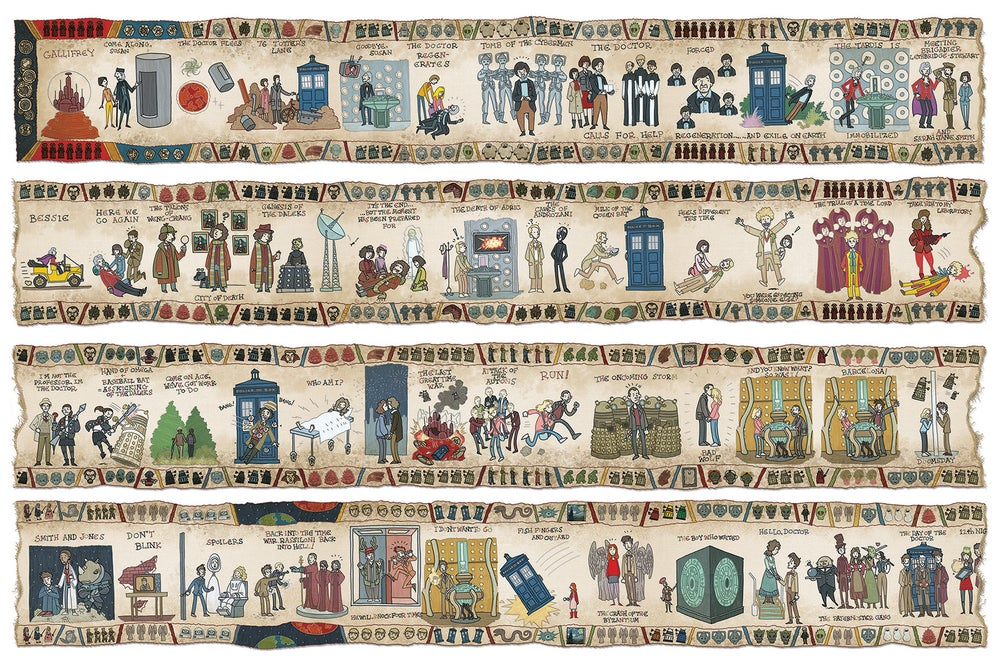 Image of The Baywheux Tapestry