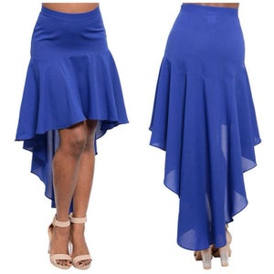 Image of High low skirt