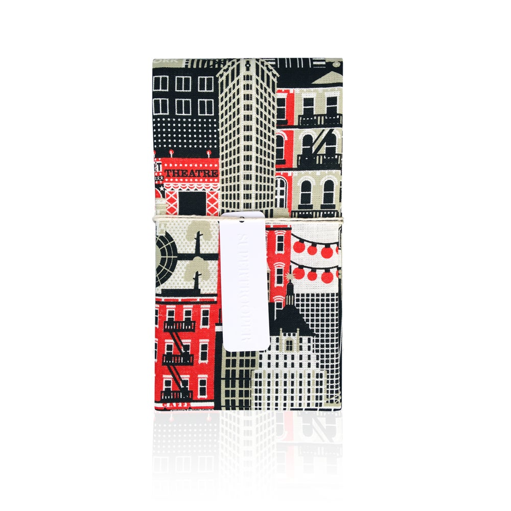 Image of New York Tea towel Super Places Collection