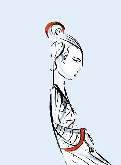 Image of Geisha Girl
