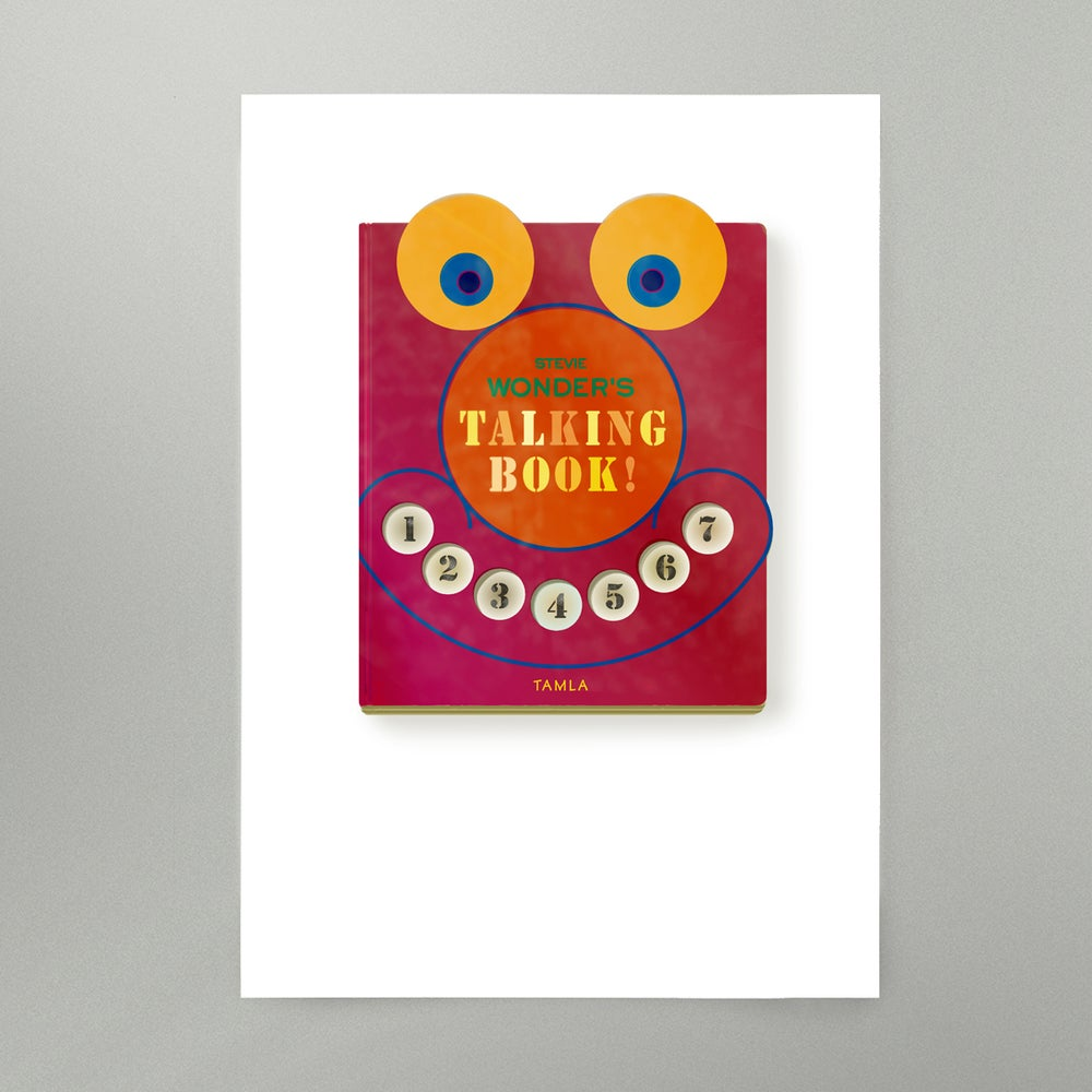 Image of Talking Book Art Print