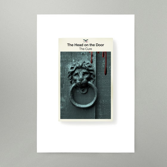 Image of The Head On The Door Art Print