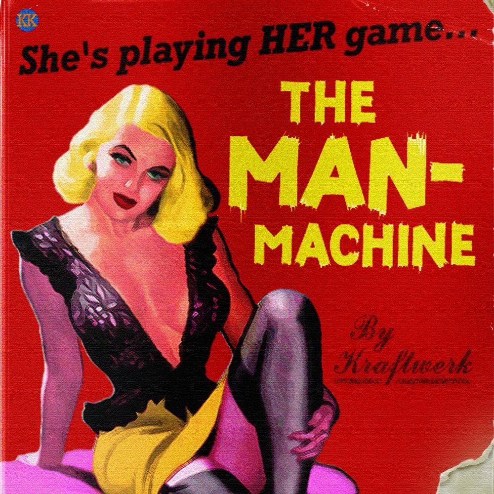 Image of The Man-Machine Art Print