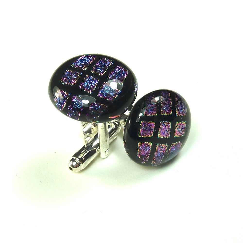 Image of Glass Cuff links