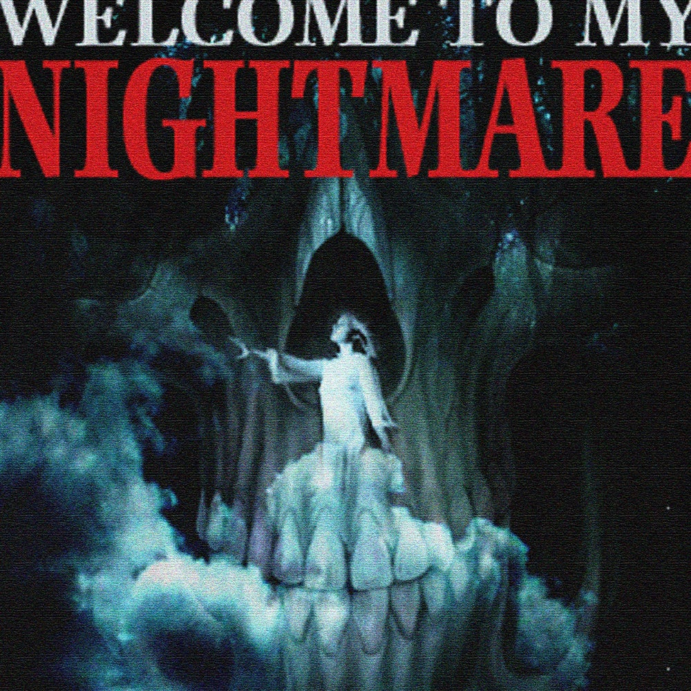 Image of Welcome To My Nightmare Art Print