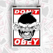 Image of ORIGINAL DONT OBEY LTD ED PRINT