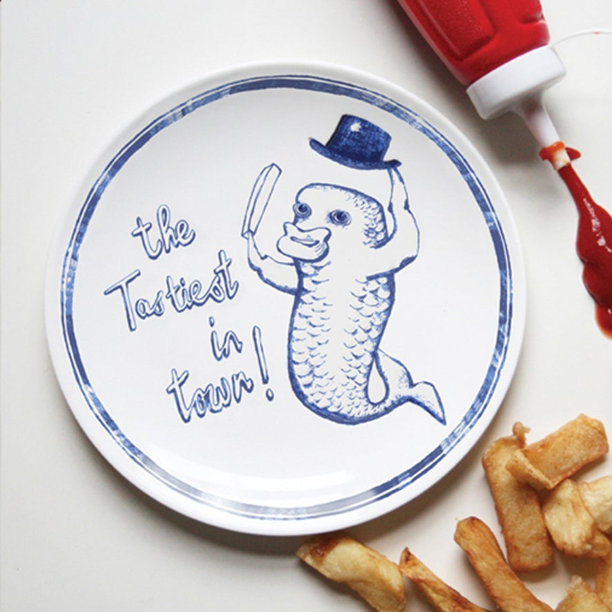 Image of Tastiest in Town - Chippy Plate