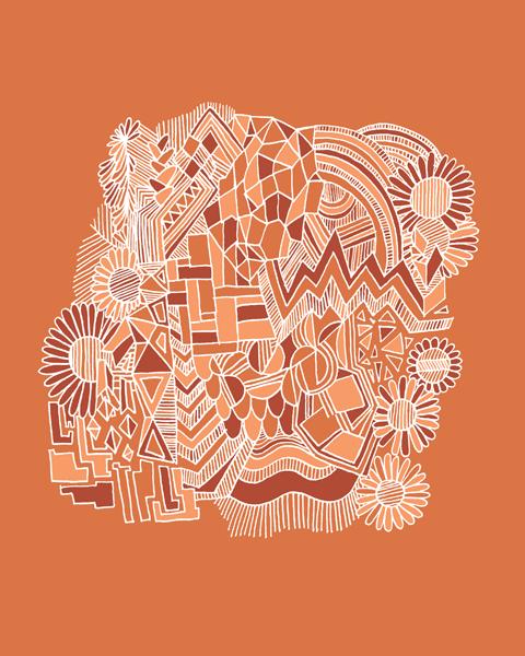 Image of Orange - 16x20