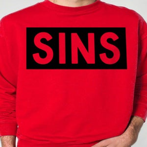Image of SINS LIFE RED CREW