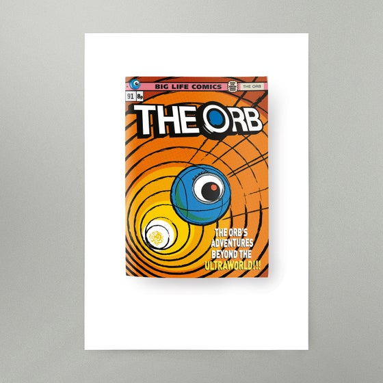 Image of The Orb's Adventures Beyond The Ultraworld Art Print