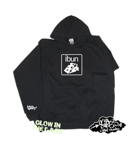 Image of ((SIKA x ibun)) ibun cheese hooded sweater (glow in the dark)