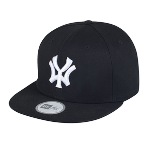 Image of 'WY' New Era 9 Fifty Snapback - Black/White