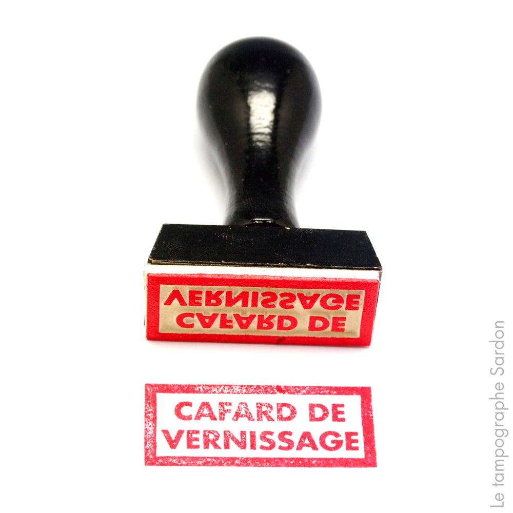 Image of Cafard de vernissage